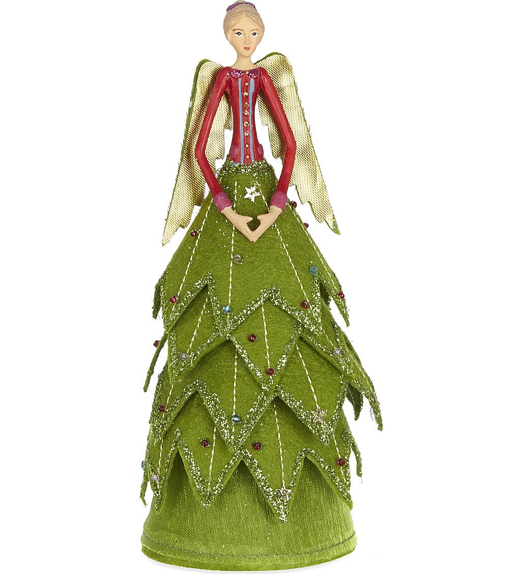 Gisela Graham Christmas Tree Topper: GISELA GRAHAM - Christmas Fairy Tree Topper