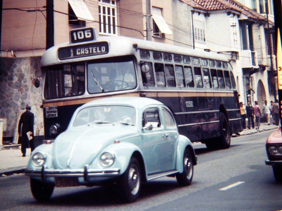 Ônibus no Rio Linha 106 Voluntários da Pátria. Altura