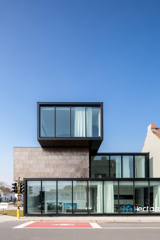 Office building HECTAAR by CAAN Architecten | Thomas De Bruyne ...