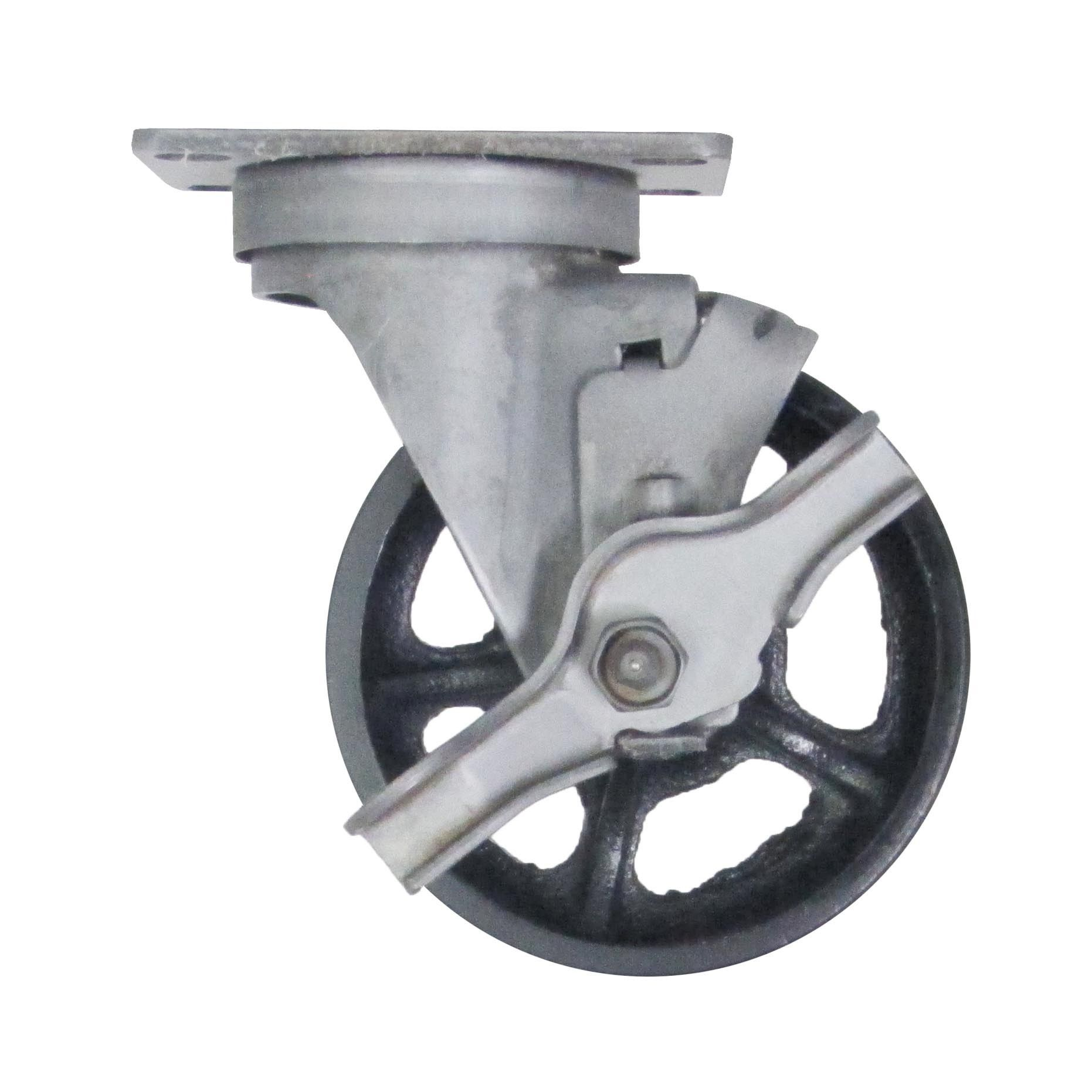 Brass Castor Wheels 25mm with Screw Fitting by Ross Castors 60kg Load Capacity