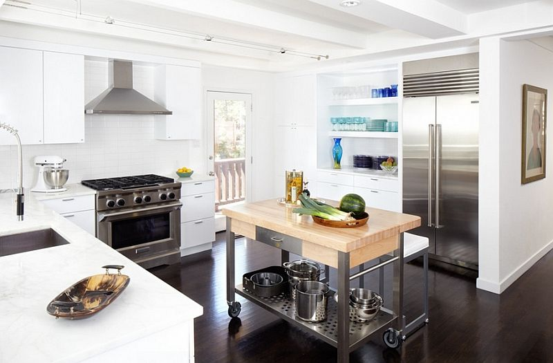 Mobile Kitchen Islands Ideas And Inspirations | Portable ...