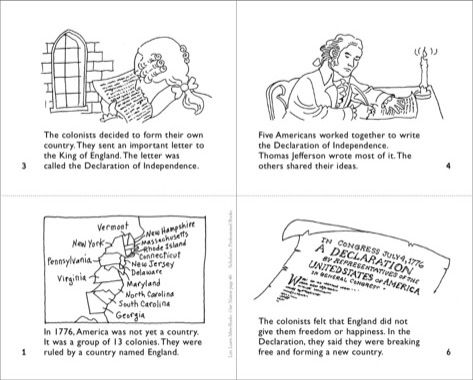 What Is The Declaration Of Independence Mini Book Printables