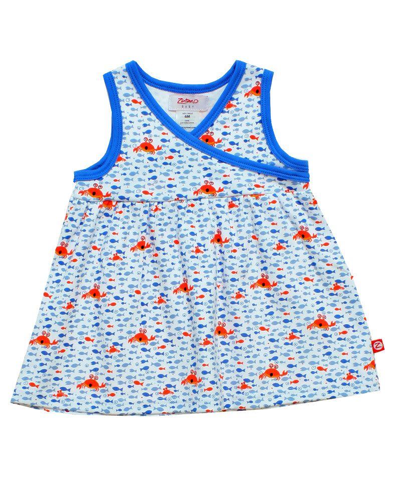 zutano crabby print dress  www.gigisfabkids.com