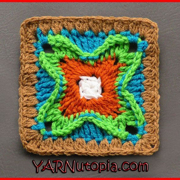 Crochet Tutorial Dynamic Window Granny Square Yarnutopia By Nadia