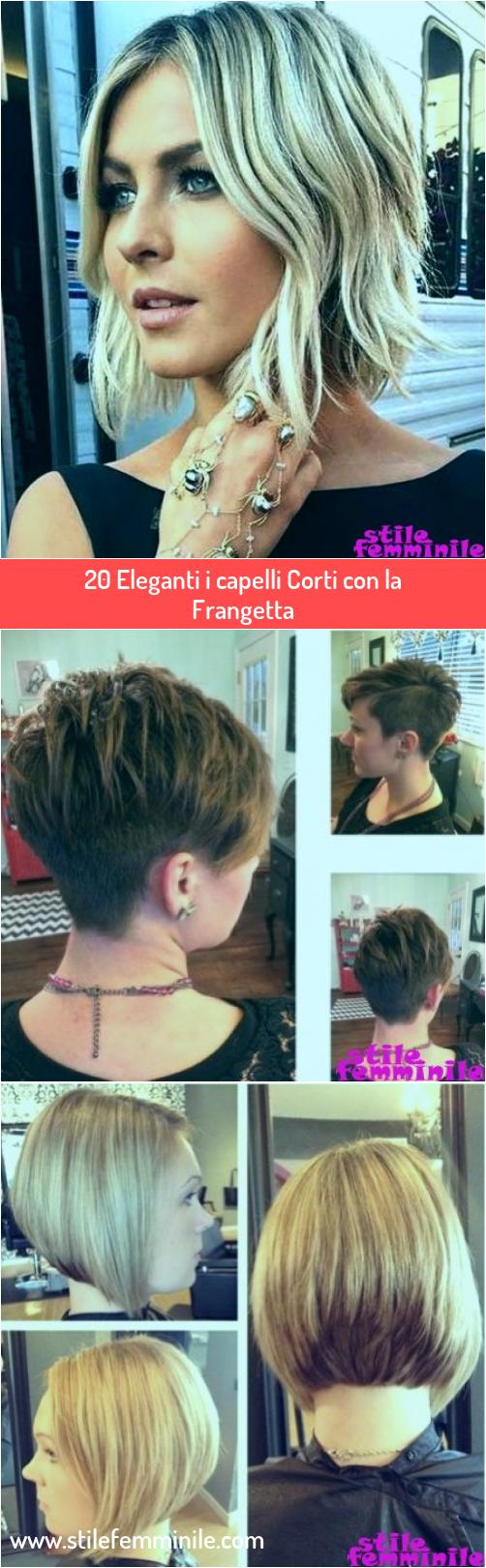 Photo of 20 Eleganti i capelli Corti con la Frangetta