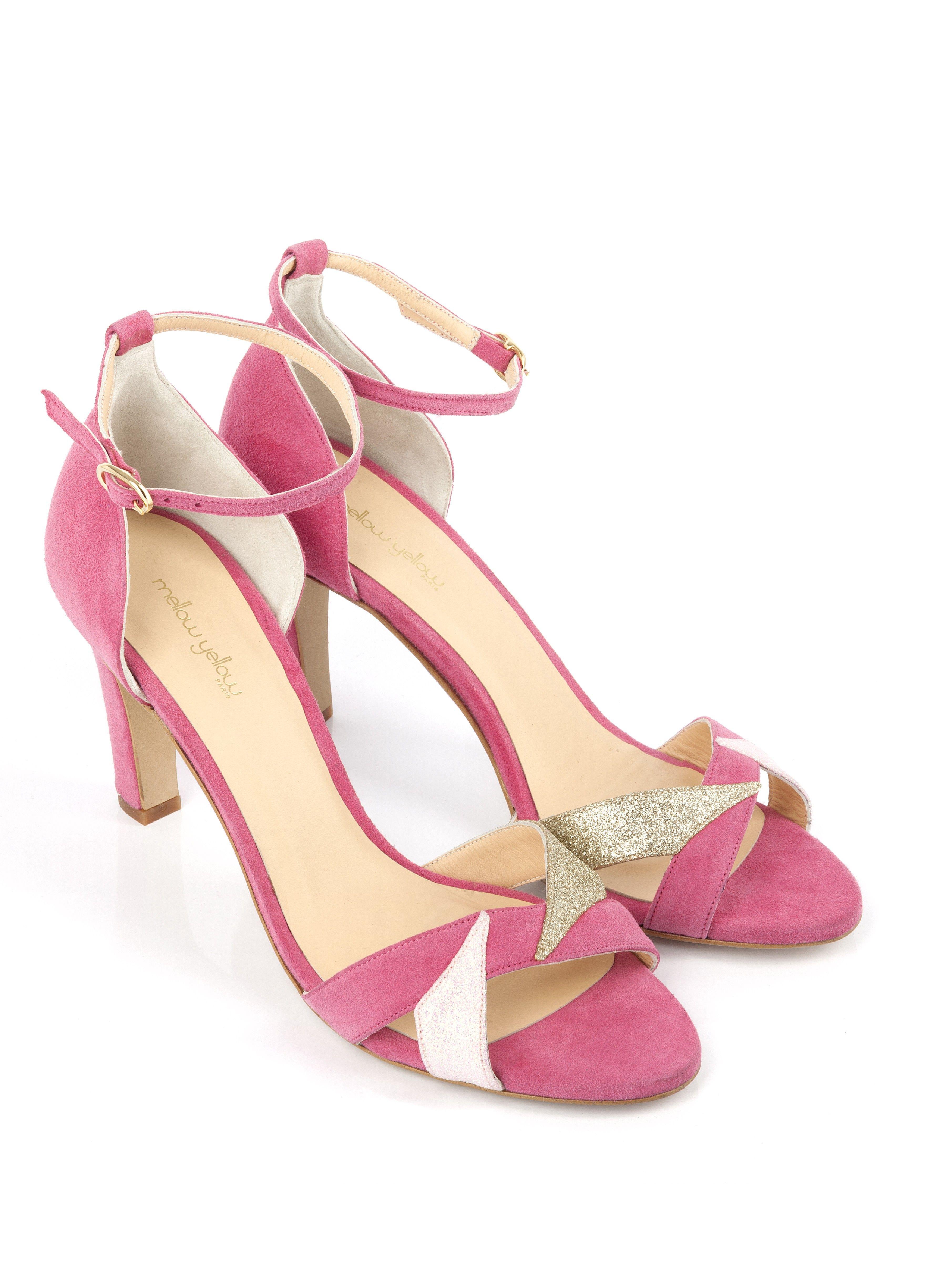Belle perle Sexy Point de métal Toe Patent Leahter Hauts talons Chaussures femme Escarpins Sandales noires Talons Chaussures,rose,37
