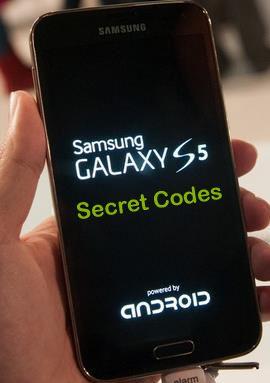 Samsung Galaxy S5 Secret codes allows you to access hidden