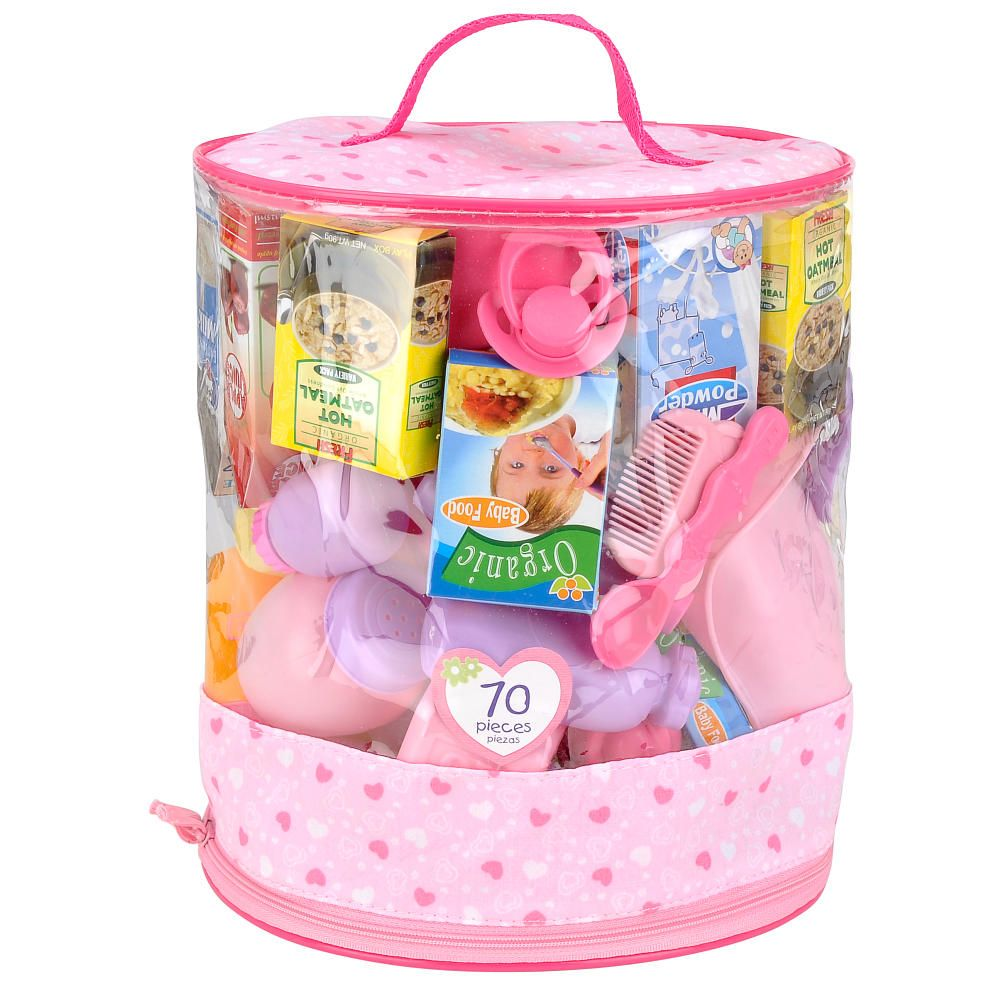 You & Me 70-Piece Doll Care Accessories Cylinder - Toys R ...