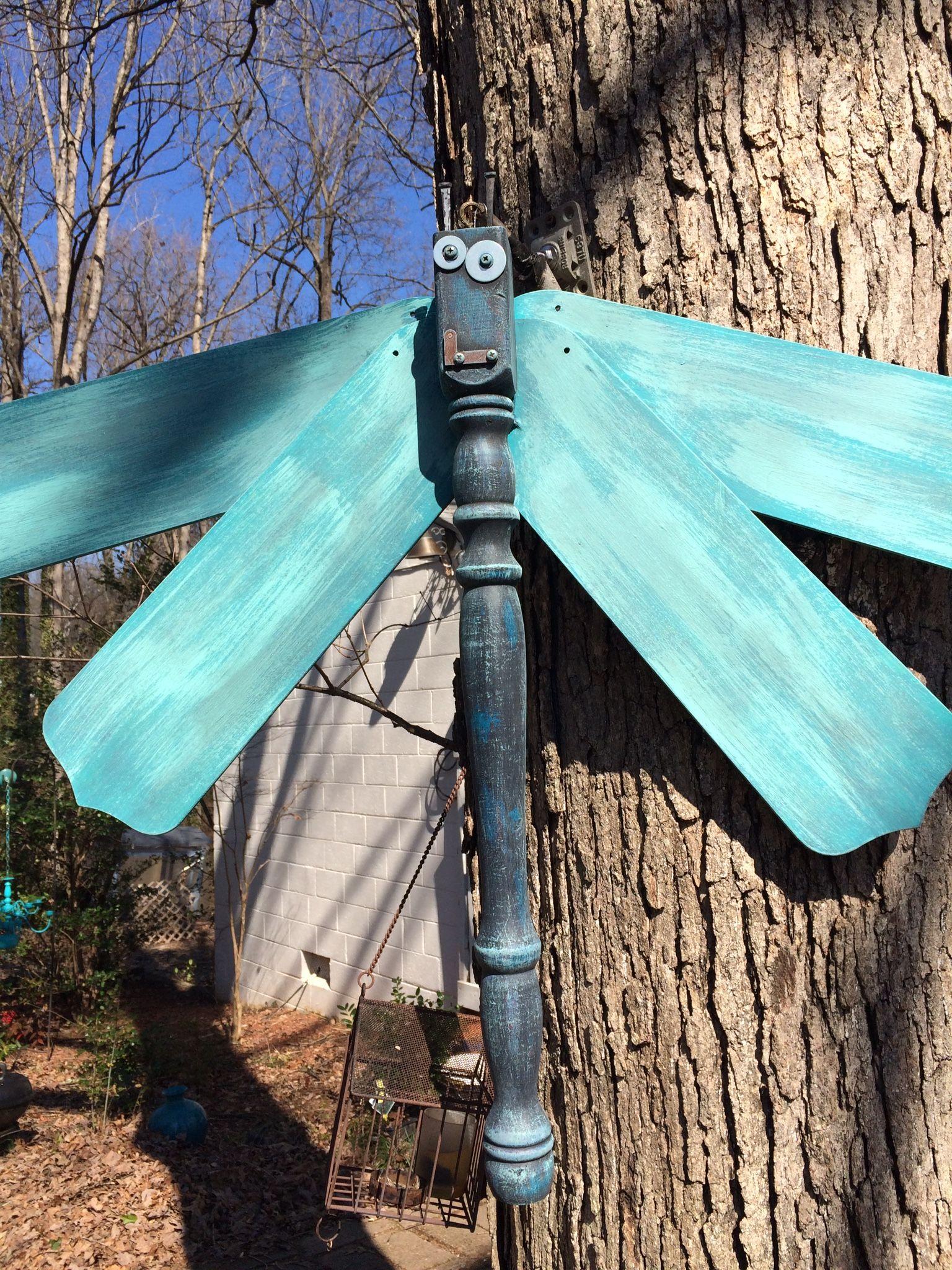 Ceiling fan dragonfly
