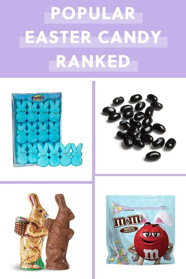 Every Popular Easter Candy Ranked From Worst to Best Easter candy Every Popular Easter Candy Ranked from Worst to Best