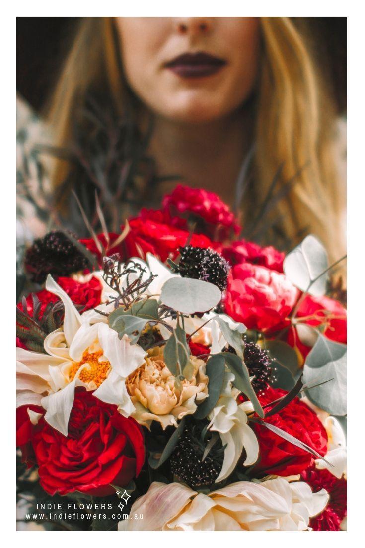Eucalyptus bouquet by indie flowers sydney diy