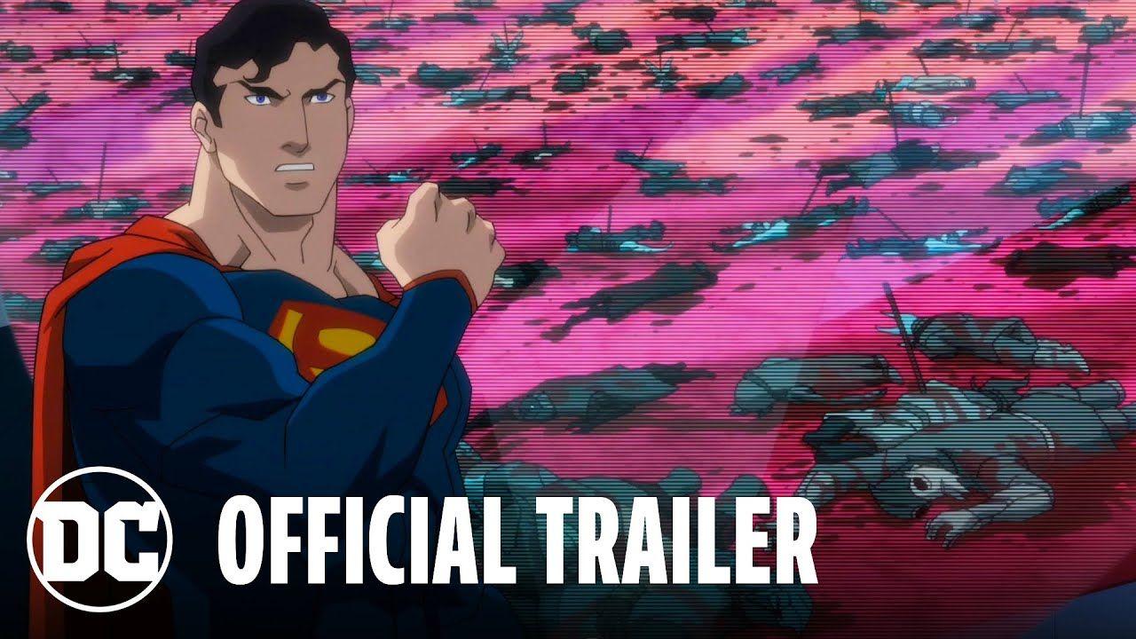 Justice League Dark Apokolips War Official Trailer