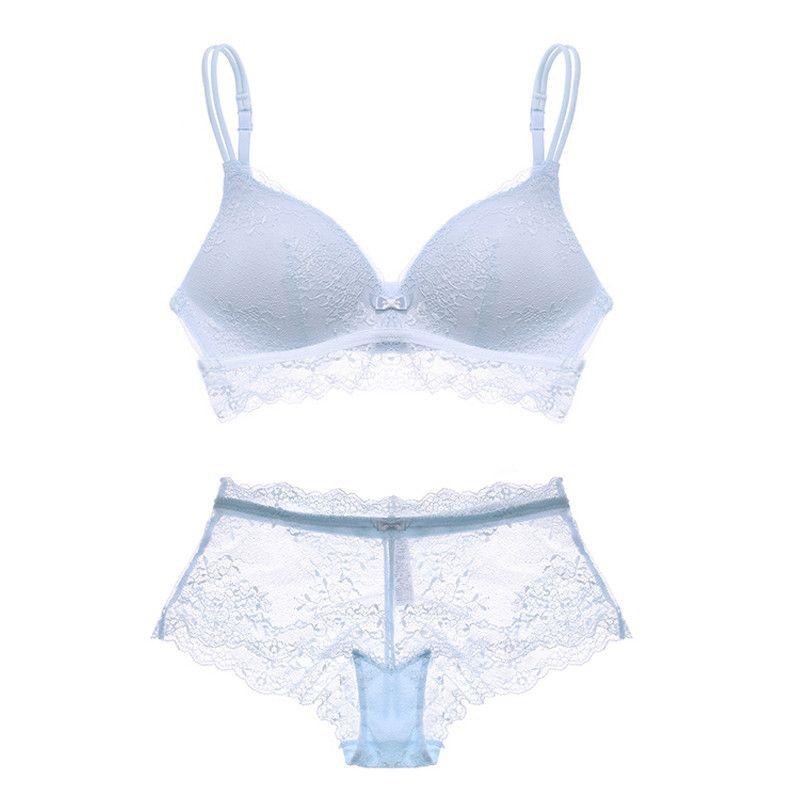 8c06b21cf25 Women s sexy bra set lace underwear adjusted-straps brassier Push Up bralette  lingerie set Brand