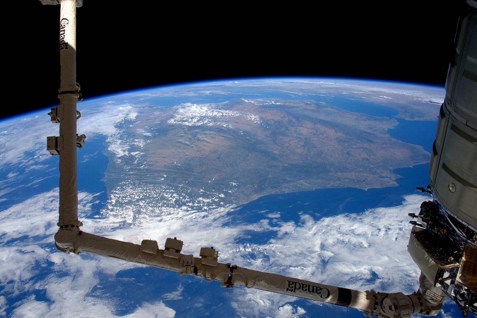 Cygnus, Spain and Portugal | by Tim Peake