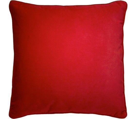 Zierkissen in Samtoptik - in Rot