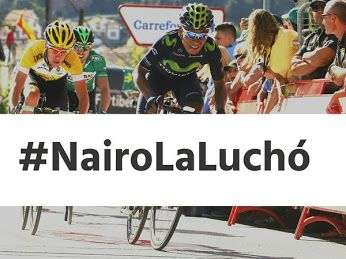 RT @NairoQuinCo: Terminar 4to es un gran logro. Gracias @Movistar_Team y a ustedes por el apoyo. Pueden decir: #NairoLaLuchó http://t.co/adjjr0LnOO