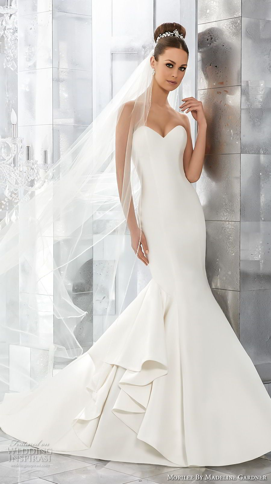 Mori lee madeline gardner wedding dress  Morilee by Madeline Gardner Fall  Blu Bridal Collection