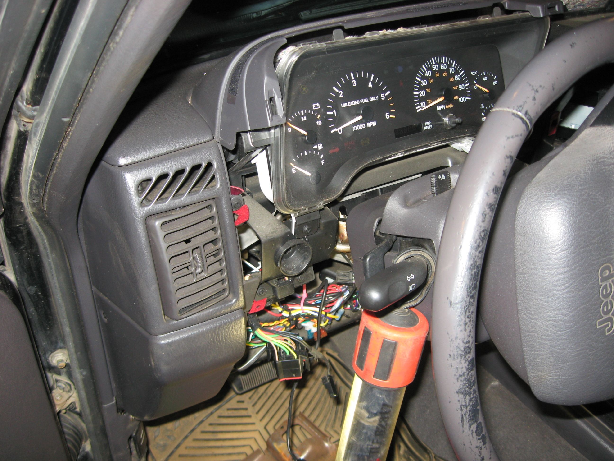 How To Rebuild Recondition Headlight Dimmer Switch 97 Jeep