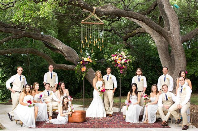 We just love absolutely everything to do with this boho wedding photo...The  setting, the styling and the bridal party look! Gorgeous <3 #boho #wedding #bohowedding #bohoweddingphoto #bohoweddingphotograph #weddingphoto #weddingphotograph #bohoweddinginspiration #bohoweddingphotoinspiration #bohoweddingphotographinspiration #weddingphotoinspiration  #weddingphotographinspiration #weddingvenue #weddingvenueinspiration #weddingstyling #weddingdecor #weddingstylinginspiration…