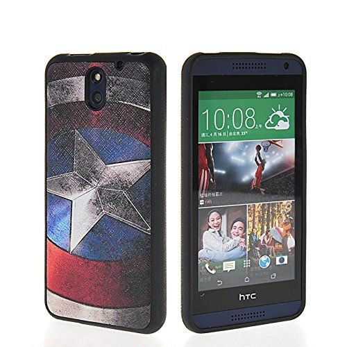 MOONCASE Cute Pattern Flexible Soft Gel Tpu Silicone Skin Slim Back Case Cover For HTC Desire 610 MOONCASE