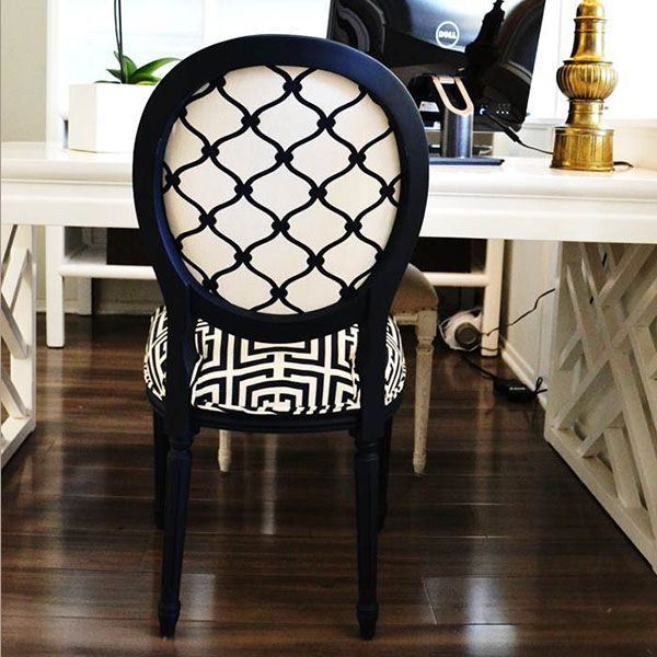 Black and White The Louis Chair Challenge | Black and ...