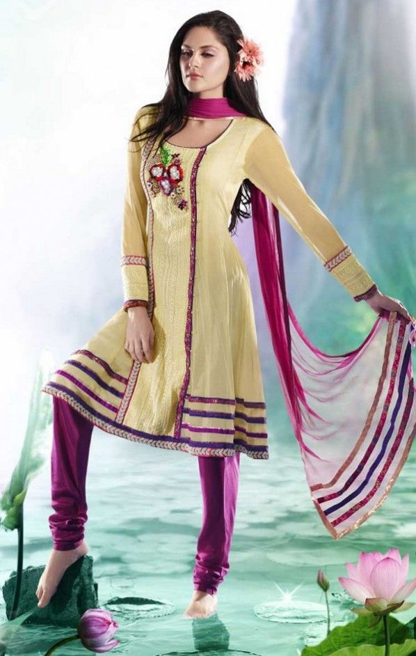 Salwar Neck Designs For Stitching Dresses BlouseDesigns - Latest churidar neck designs for stitching