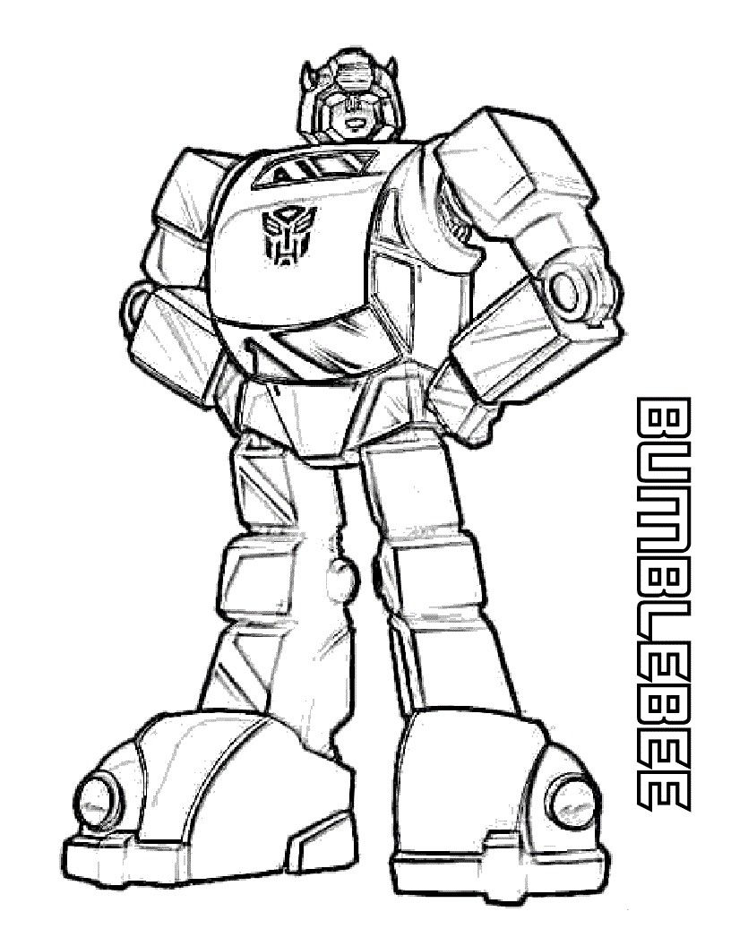 Printable Coloring Pages For Boys Transformers Transformers Coloring Pages Bee Coloring Pages Coloring Pages For Boys