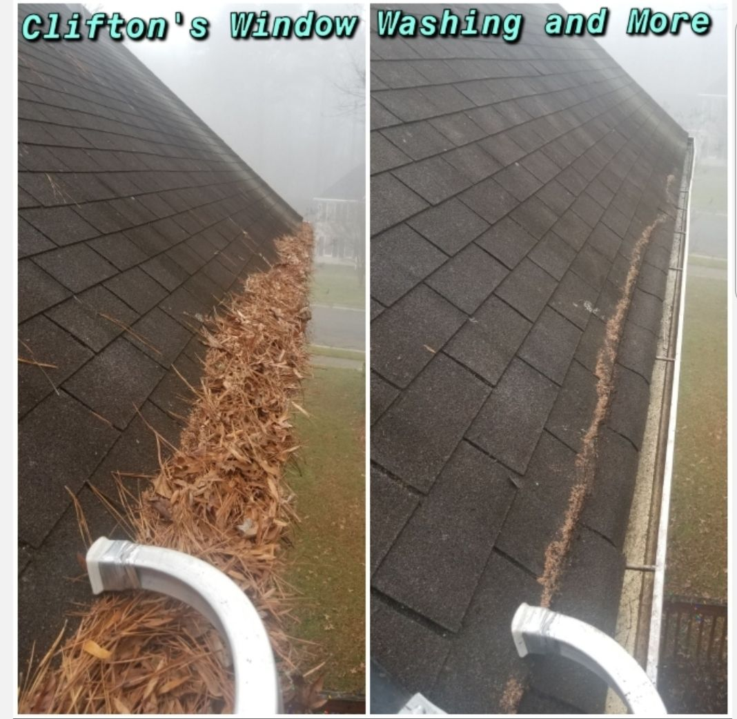 Gutter Cleaning Washing Windows Yard Landscaping Cleaning Gutters
