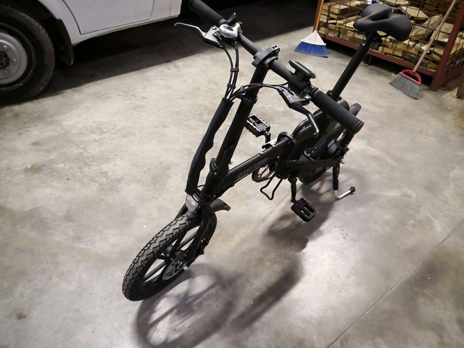 Vi Presento La Mia Bici Elettrica Pieghevole Cms F16 Bici