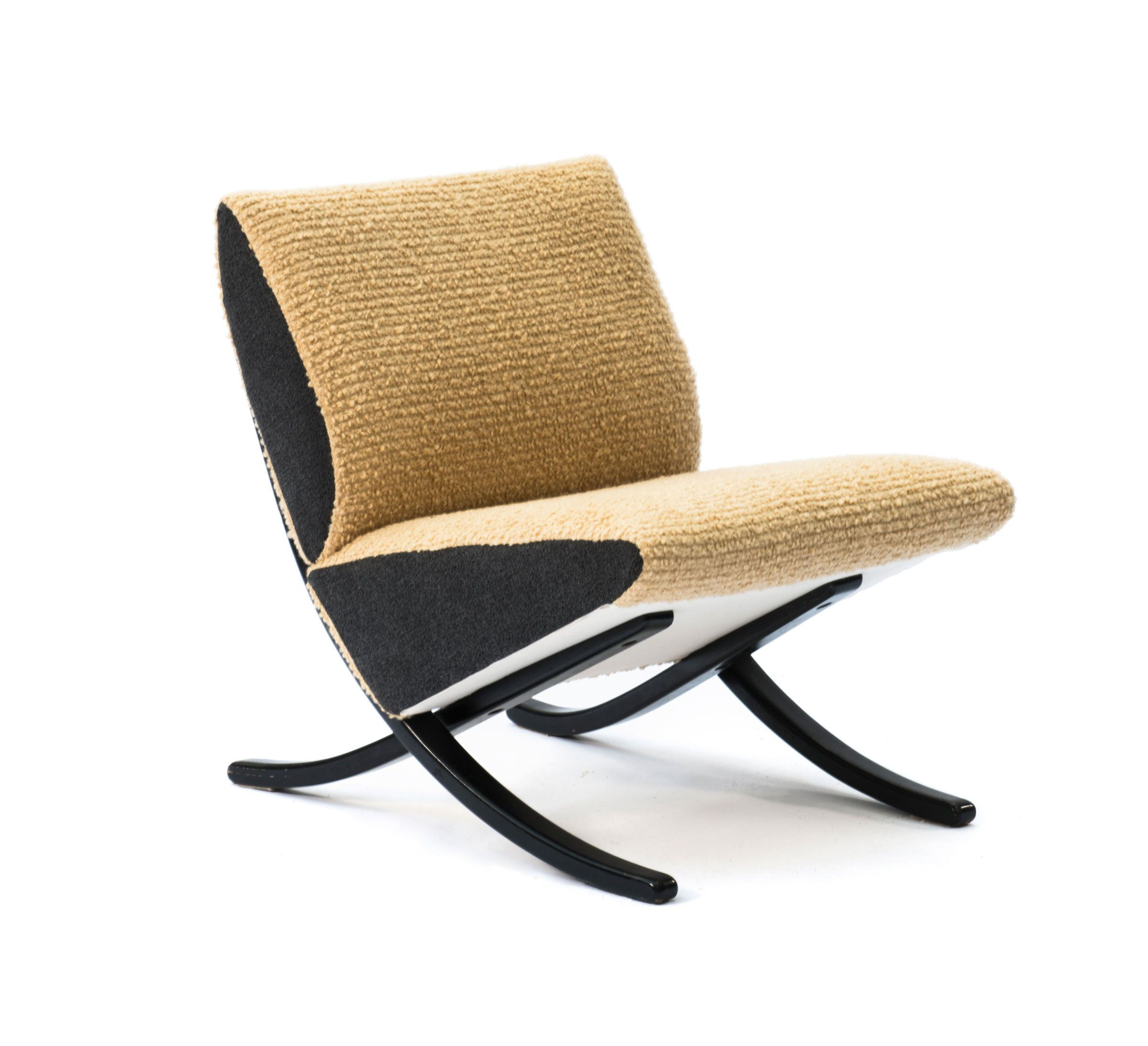Arnold Bode Easy Chair For Domus Raumkunst 1952 Mobel