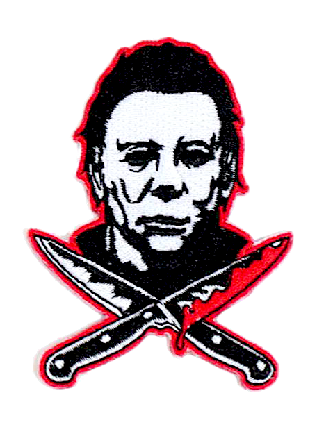 Halloween 2 Michael Myers Knives Patch Michael Myers Halloween Michael Myers Michael Myers Tattoo
