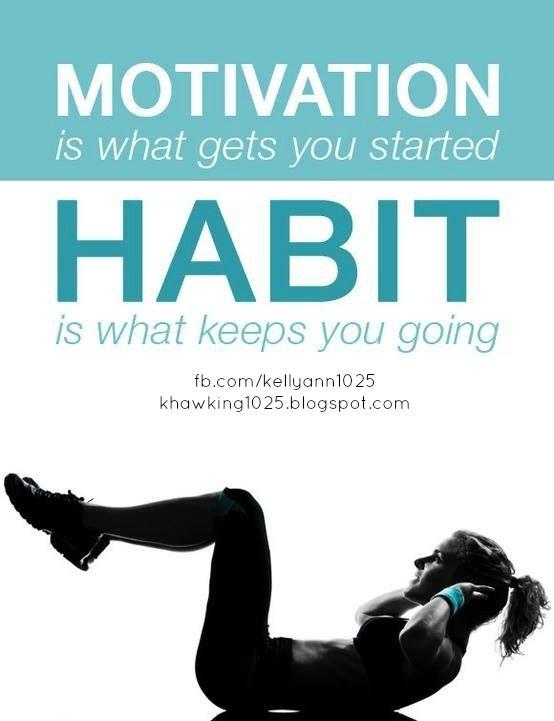 Forming healthy habits