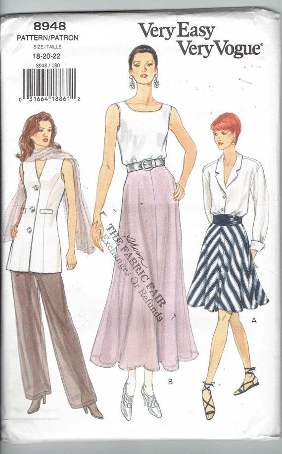 Pin On Contemporary Vogue Patterns