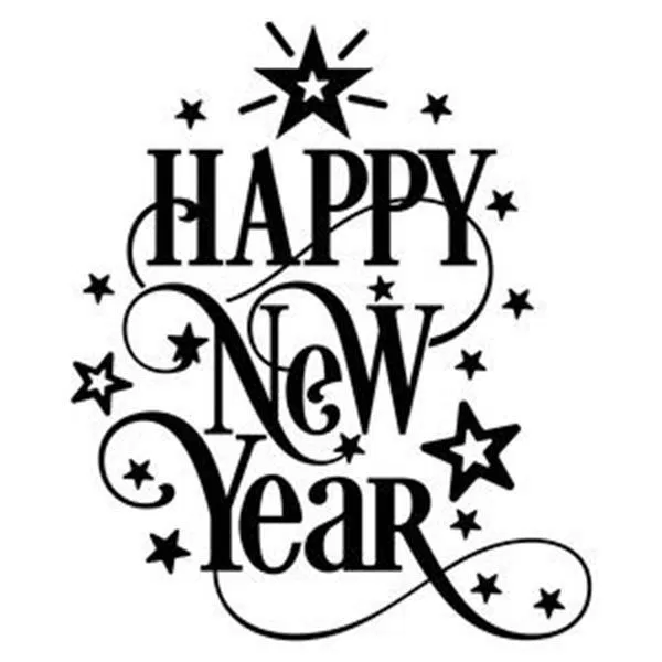 500 Happy New Year Clip Art Happy New Year Clipart Animated New Year Clipart New Year Card Design Happy New Year Cards