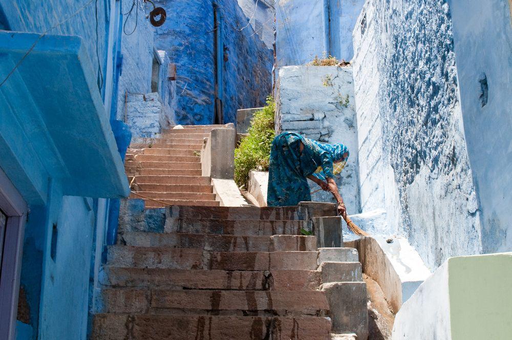 Jodhpur, Rajasthan, India the blue city Blue city