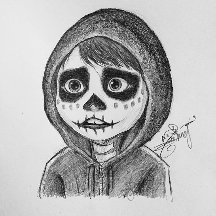 Miguel From Coco Disney Drawings Sketches Disney Art Drawings Art Drawings Sketches Simple