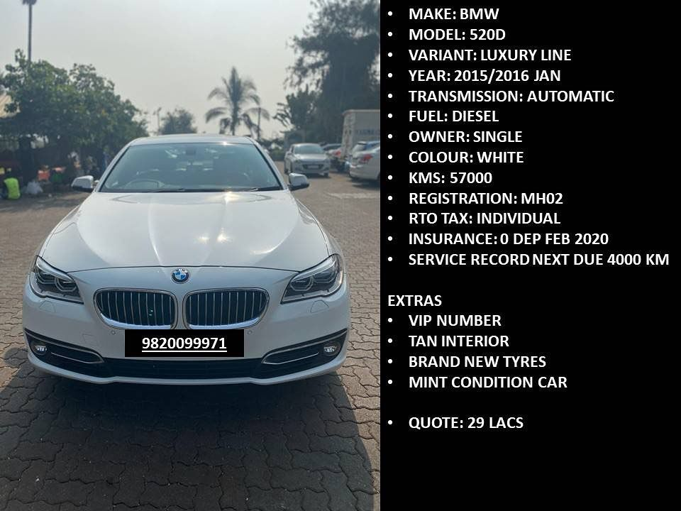 White Bmw 520d Available Forsale Mumbai India Luxury Car Cars Luxurylifestyle Luxurycars Luxurycar Sale Buy Sell Automobile P Bmw Models Luxury Cars Car