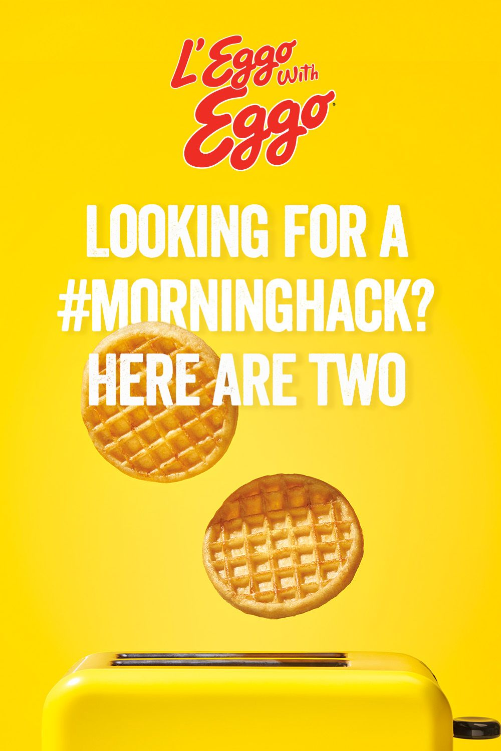 Looking for a #MorningHack? Here are two