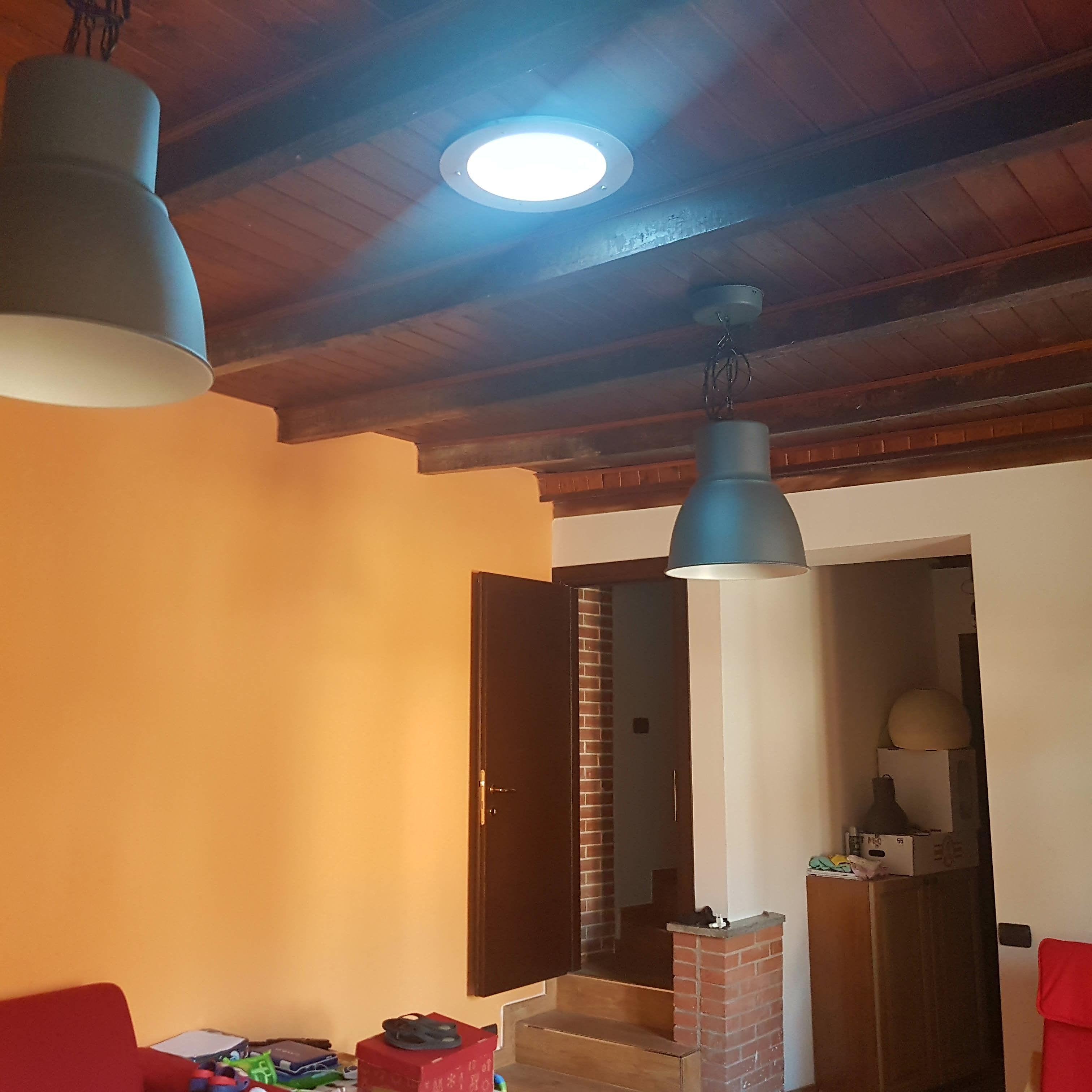 Tunnel Solare A Parete lucernario #tubolare #tunnelsolare #illuminazione