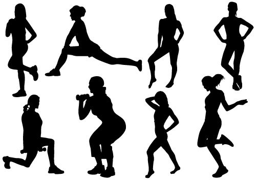 dance exercise clip art - photo #35
