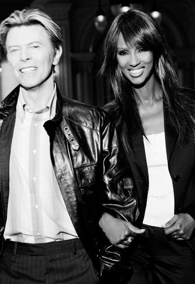Outtakes From David Bowie And Imans Photoshoot For Tommy Hilfiger