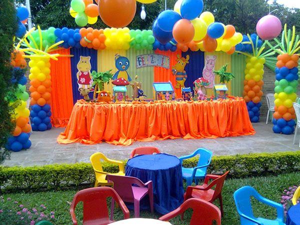 organizar fiesta de cumpleaos con globos buscar con google with preparar fiesta cumpleaos infantil
