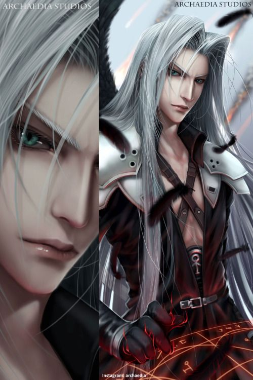 Nice Render Of Sephiroth Final Fantasy Vii Remake Final