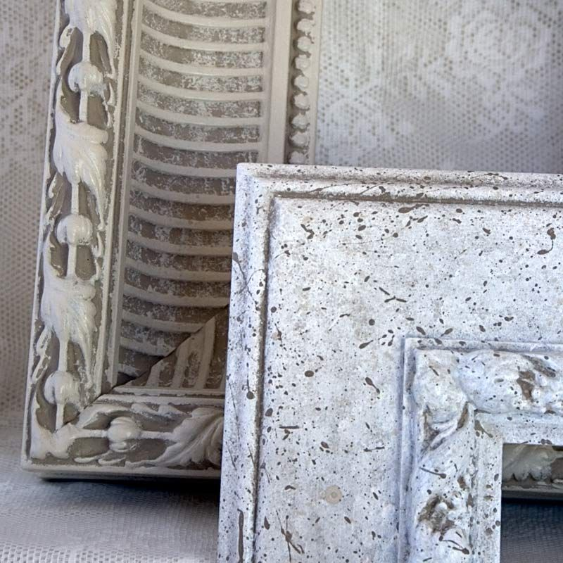 DIY Shabby Chic White Frame For Wall Display Part 3 Shabby