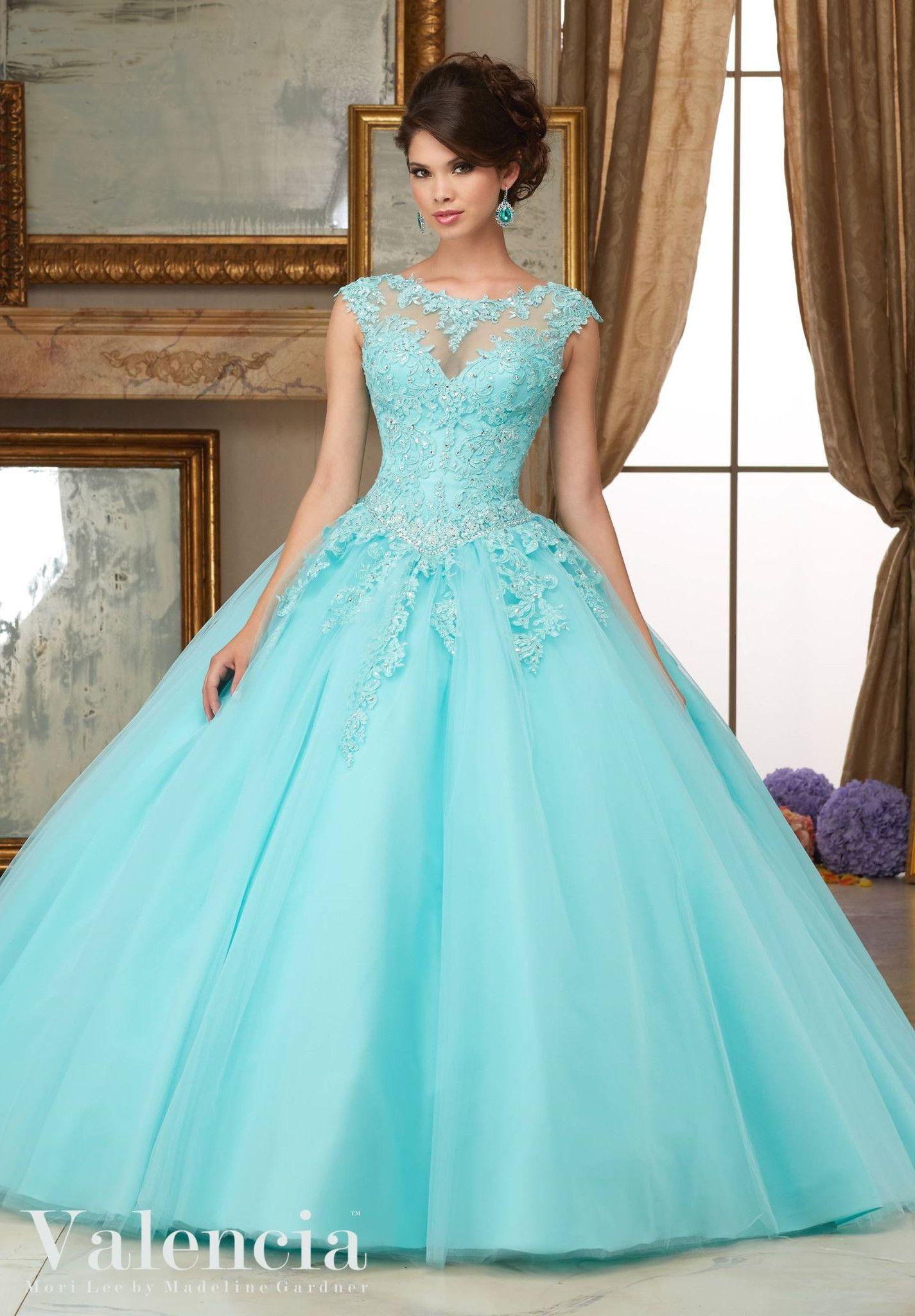Mori Lee Valencia Quinceanera Dress 60006 | Mori lee, Valencia and ...
