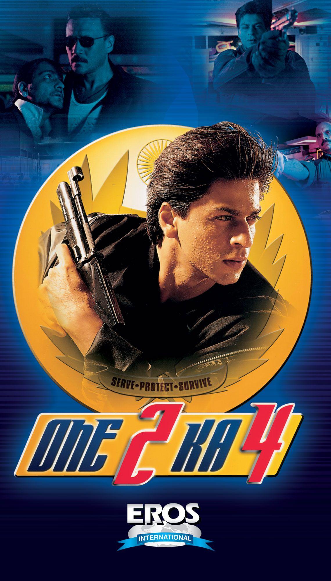 One 2 Ka 4 (2001) | Hindi movies, Bollywood posters, Best bollywood movies