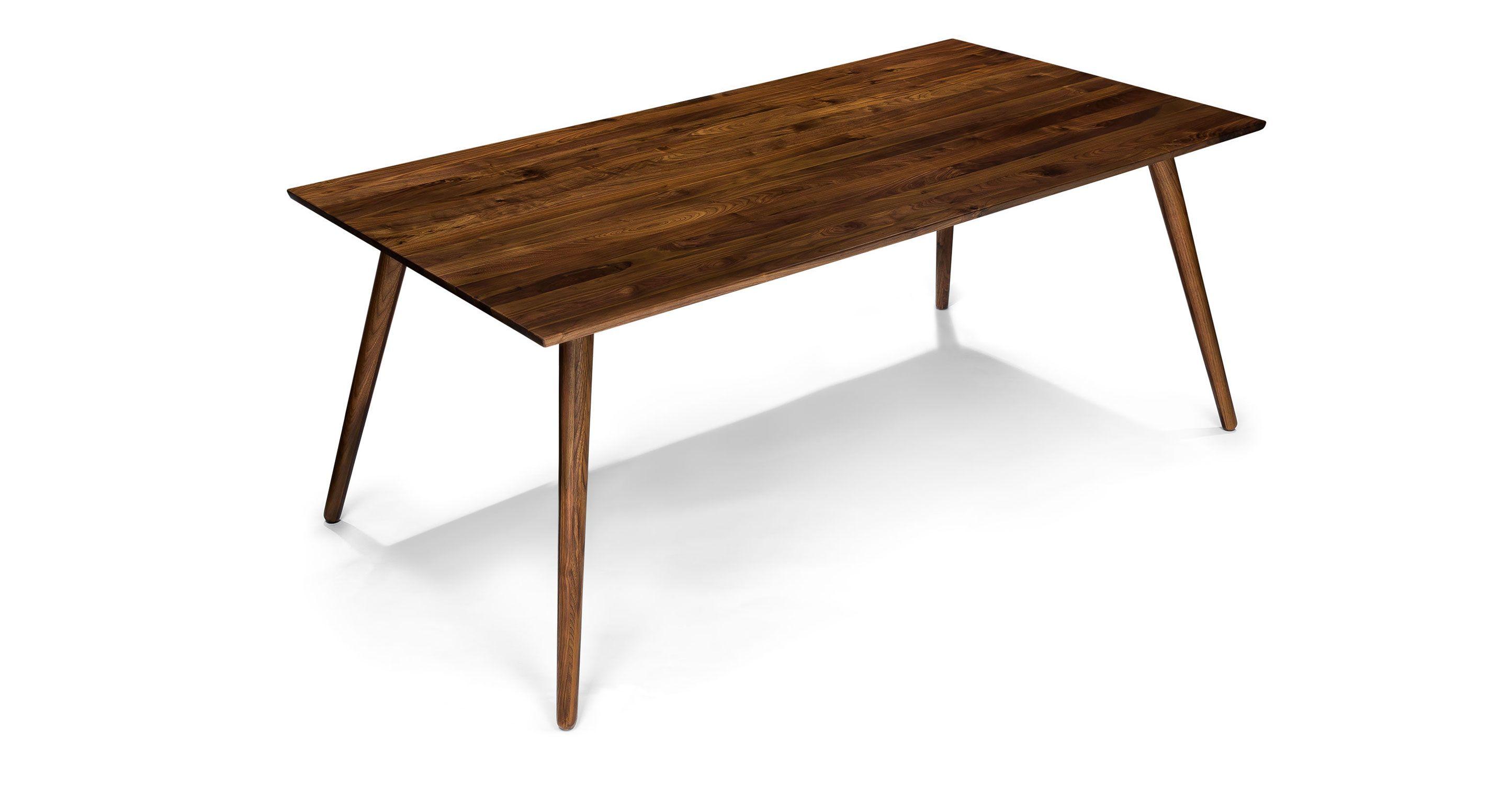 Seno Wild Walnut Dining Table Wood Tables Bryght