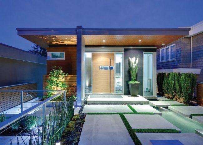 Eingangsbereich gestalten beleuchtung gartenweg for Eingangsbereich gestalten