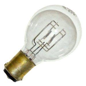 General 11207 Bec By General 7 49 150 Watt 120 Volt B12 Double Contact Bayonet Ba15d Base 3 100k Vintage Light Bulbs Projector Lamp Projector Accessories