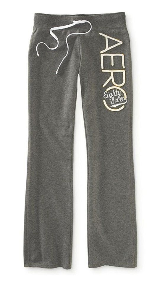 Aeropostale Men's Fit and Flare Embroidered Sweatpants Athletic Pants 053 #aeropostale